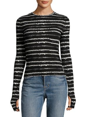 Long Sleeve Top by Helmut Lang