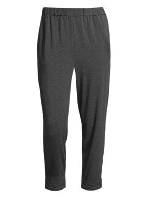 Slouchy Stretch Jersey Pants