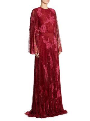 Modi Floral Lace Gown