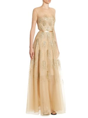 Asha Beaded Gown