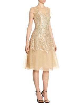 Richa Metallic Dress