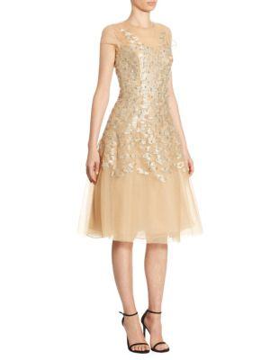 Richa Metallic Dress