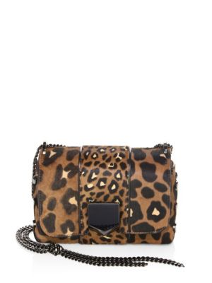 Lockett Petite Leopard Convertible Clutch
