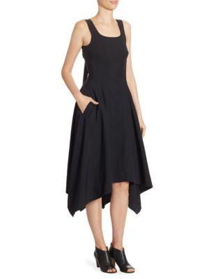 Back Lace-Up Dress