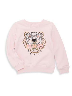 Toddler's Embroidered Cotton Sweatshirt