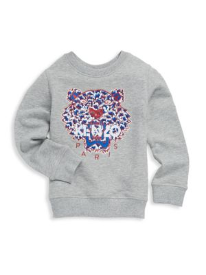 Toddler's, Little Girl's & Girl's Knitted Cotton Sweatshirt