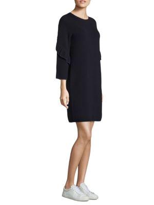 Ashley Textured Wool Dress