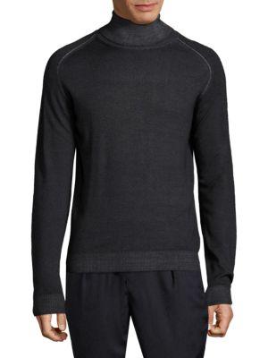 Knitted Turtleneck Sweatshirt