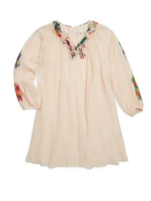 Toddler's, Little Girl's & Girl's Ceremony Silk Dress