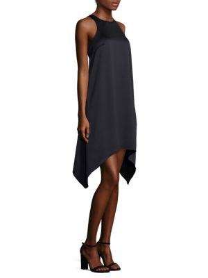 Draped Trapeze Dress