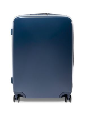 RADEN THE A28 28-INCH CHARGING WHEELED SUITCASE - BLUE
