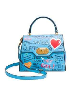 Classic Graffiti Top Handle Bag