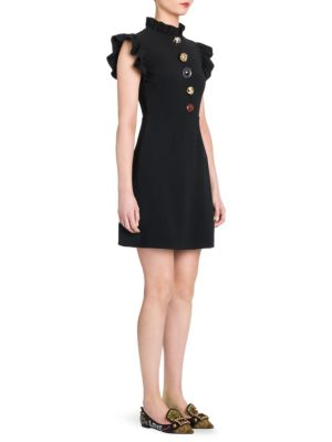 Cady Button Detail Dress