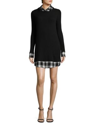 Coda Long-Sleeve Shift Dress