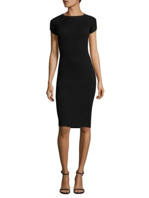 Releve Knitted Sheath Sweater Dress