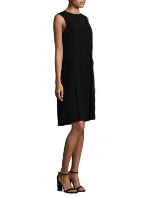 Pleated Sleeveless Zaida Dress