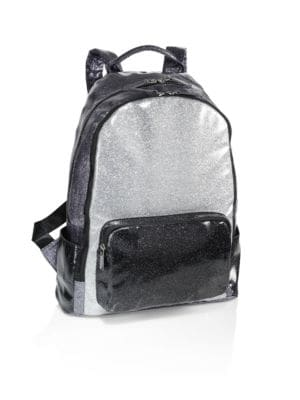 Tricolor School Backpack