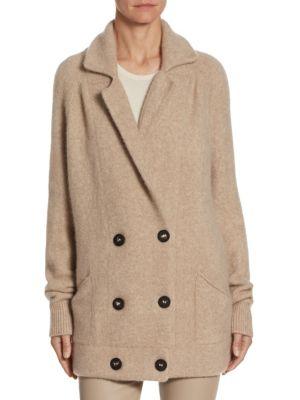 BARBARA LOHMANN Emma Double-Breasted Coat