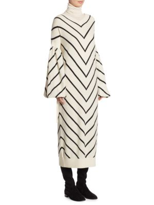 Louche Striped Dress