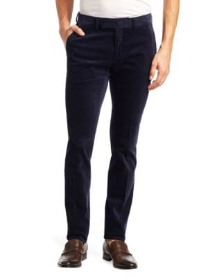 Purple Label Slim Eaton Corduroy Pants