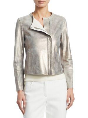 Nabucco Reversible Leather Jacket