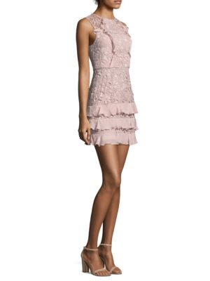 Zahara Combo Lace Mini Dress