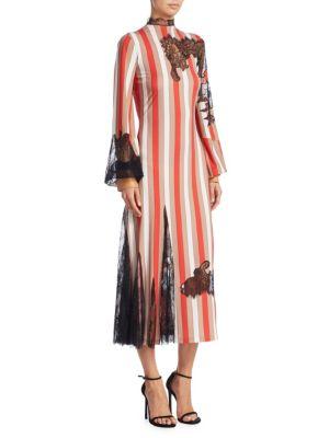 Striped Lace Dress