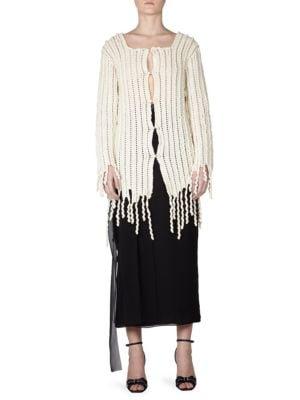 Wool Crochet Cardigan