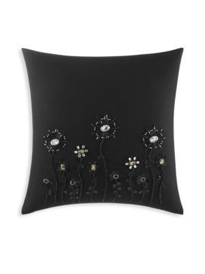 Beaded Blossom Pillow