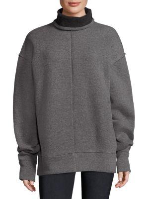 Funnel Neck Sweatshirt by FRAME