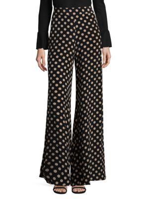 Auden Silk Polka Pants