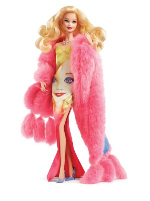 Girl's Andy Warhol Barbie Doll