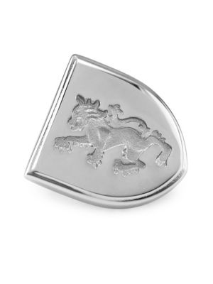 Sterling Silver Griffin Brooch