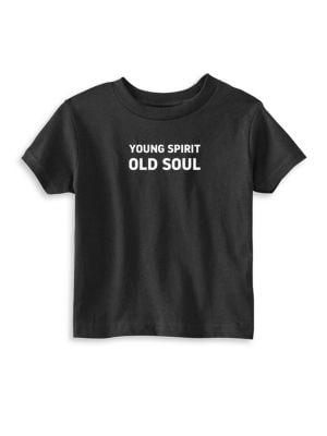 Toddler's, Little Kid's & Kid's Young Spirit Cotton Tee