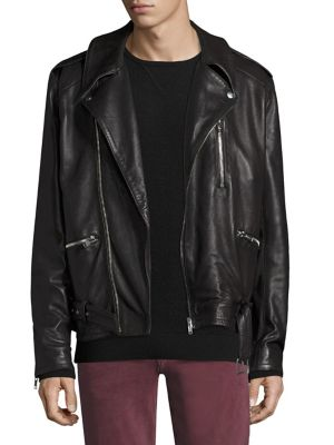 Mick Leather Riding Jacket