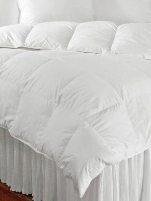 Villa Year Round Cotton European White Down Filled Comforter