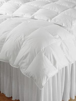 Calla Lily Year Round Cotton and Goose Down Filled Comforter