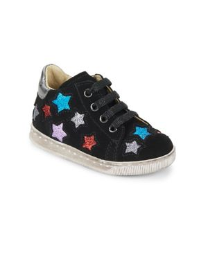 Baby's & Toddler's Falcotto Cosmic Leather Tennis Shoes 0400095370514