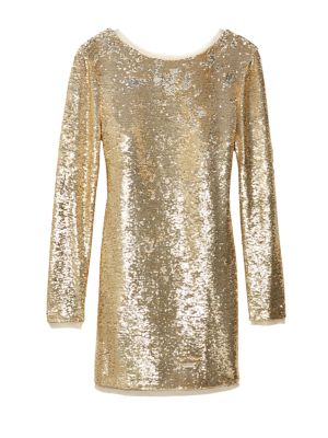 Racko Sequined Mini Dress