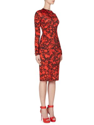 Rose Jersey Dress