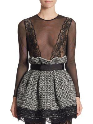 Mesh Lace Bodysuit by Faith Connexion