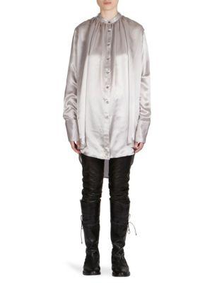 Silk Ruffle Shirt by Ann Demeulemeester