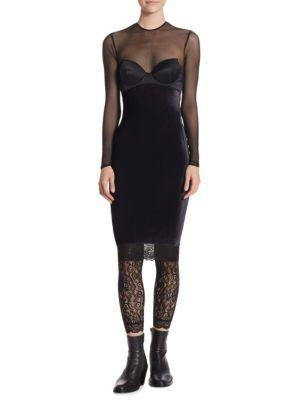 Mesh Bustier Dress