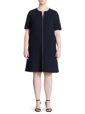 Sonya Wool Knee-Length Dress