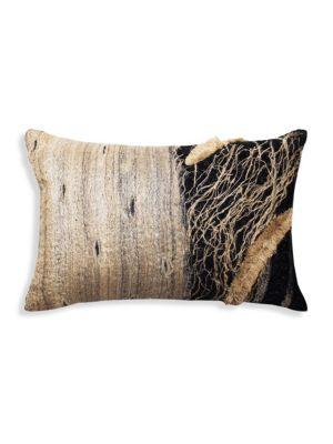 Applique Silk Pillow