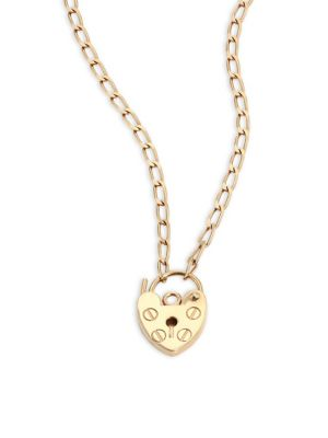 Mini Providence 18K Yellow Gold Pendant Necklace