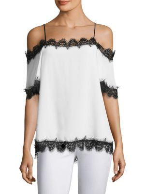Lucy Cold Shoulder Top by Delfi Collective