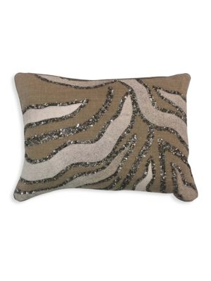 Embroidered Hairon Pillow