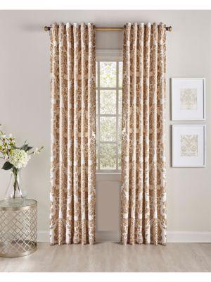 Printed Velvet Curtain