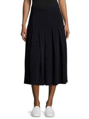 Stretch Wool Skirt